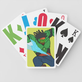 Wasabi Supercharged Bicycle Playing Cards