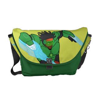 Wasabi Supercharged Messenger Bag