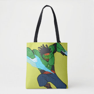 Wasabi Supercharged Tote Bag