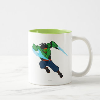 Wasabi Supercharged Two-Tone Coffee Mug