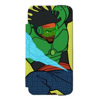 Wasabi Supercharged Wallet Case For iPhone SE/5/5s