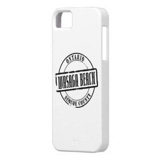 Wasaga Beach Title iPhone SE/5/5s Case