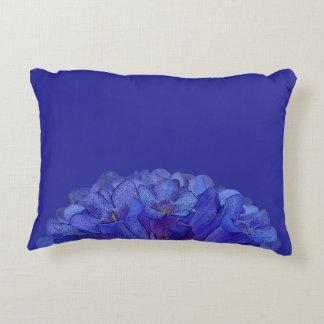 Wasatch Blue Penstemon Floral Accent Pillow