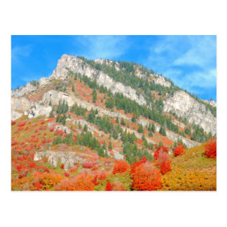 Wasatch Front Mountains, Utah Postcard
