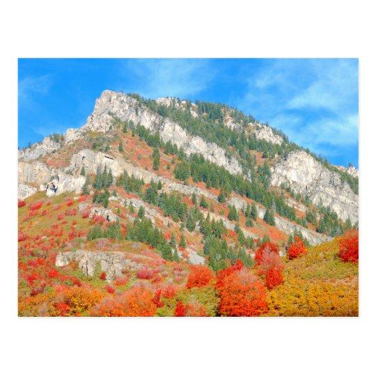 Wasatch Front Mountains, Utah Postcard