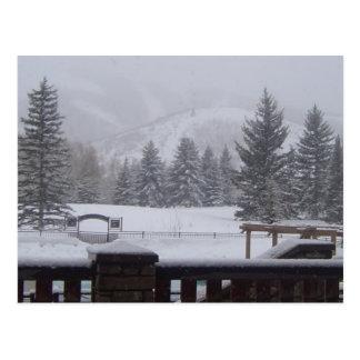 Wasatch Mountains, Park City, Utah Postcard