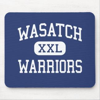 Wasatch - Warriors - Jr - Salt Lake City Utah Mouse Pad
