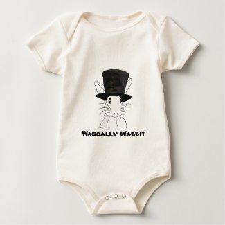Wascally Wabbit Baby Onesie shirt