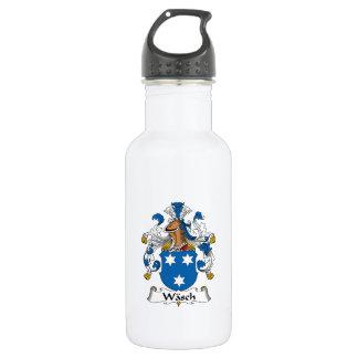 Wasch Family Crest Water Bottle