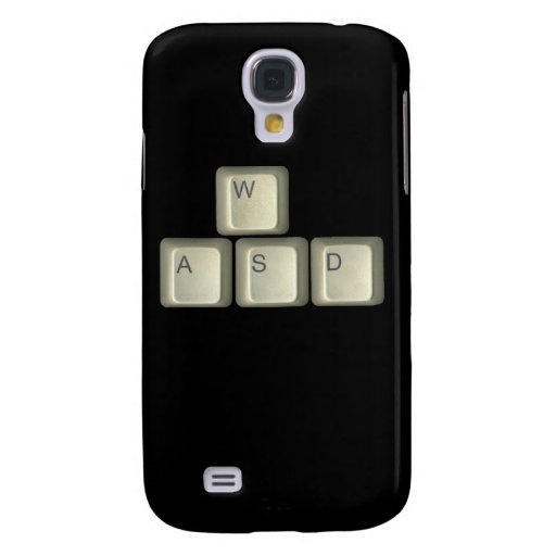 WASD Keys Galaxy S4 Covers
