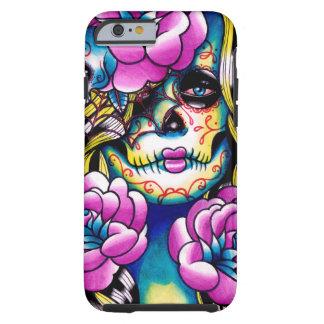 Wash Away Sugar Skull Girl iPhone 6 Case