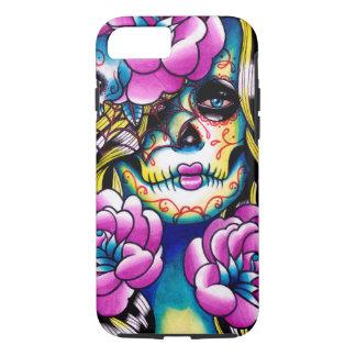 Wash Away Sugar Skull Girl iPhone 8/7 Case