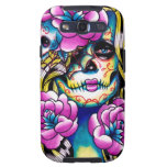 Wash Away Sugar Skull Girl Samsung Galaxy S3 Cases