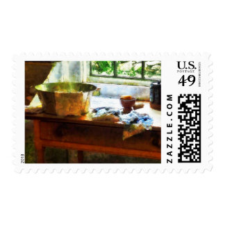 Wash Basin and Soap Postage