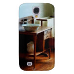 Wash Basin and Towel Samsung Galaxy S4 Cases