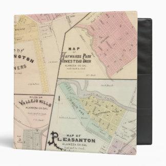 Wash Corners, Haywards Park, Niles, Pleasanton 3 Ring Binder