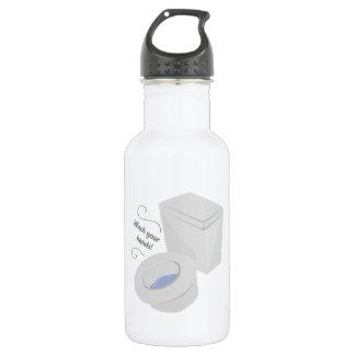 Wash Hands 18oz Water Bottle