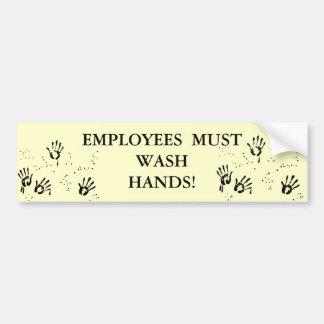 Wash Hands Bathroom Sticker