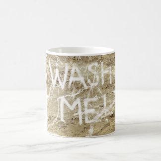 Wash Me Classic White Coffee Mug