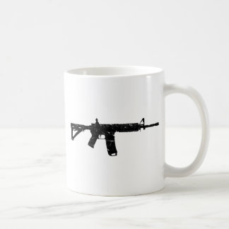 Wash Worn AR15 Coffee Mug