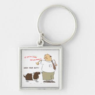 Wash Your Butt Keychain