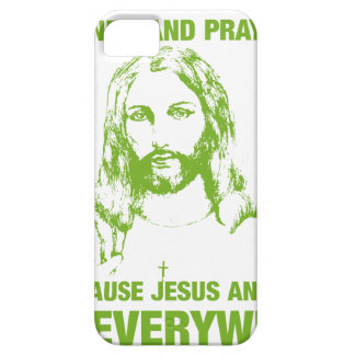 Wash Your Hands And Pray - Jesus And Germs... iPhone SE/5/5s Case