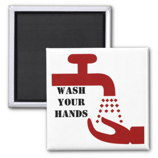 Wash Your Hands Magnet