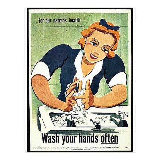 Wash Your Hands Often Flyer