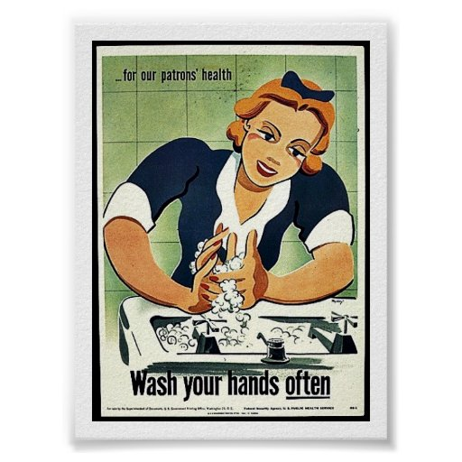 Wash Your Hands Often Poster