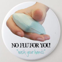 Wash Your Hands! Pinback Button