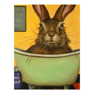 Wash Your Hare Letterhead