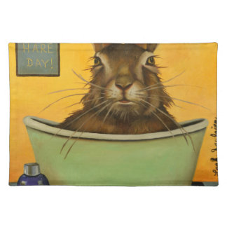 Wash Your Hare Placemat