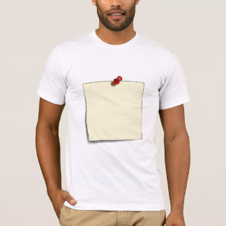 Washable post-it-note T-Shirt
