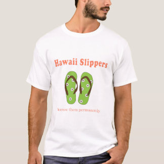 Washable Slippers T-Shirt