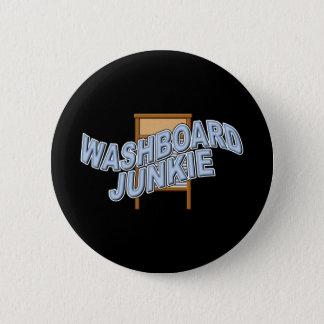 Washboard Junkie Button