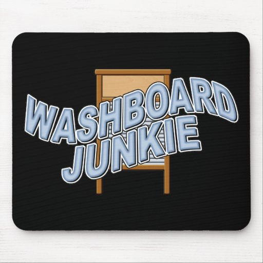 Washboard Junkie Mouse Pad
