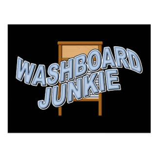 Washboard Junkie Postcard