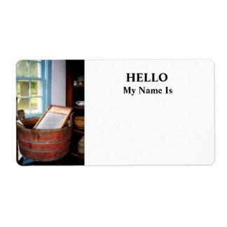 Washboard Label