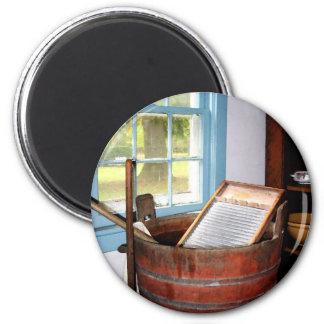 Washboard 2 Inch Round Magnet