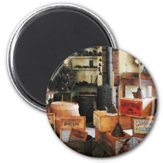 Washboards and Soap 2 Inch Round Magnet