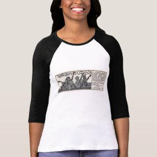 Washburn Ad Ladies 3/4 Sleeve Raglan T-Shirt