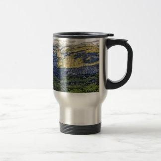 Washburn Point Panorama Travel Mug