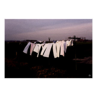Washday in Amsterdam - Open Edition Print