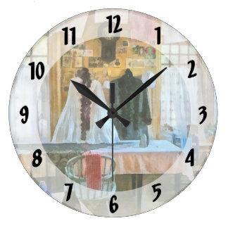 Washday Large Clock