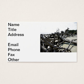 Washed Ashore Business Card