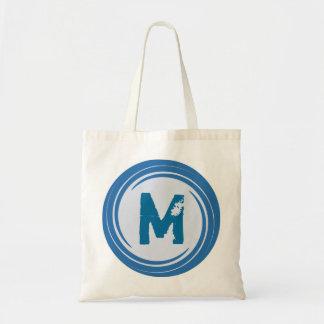 Washed Away! Blue Monogram Bag