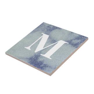 Washed Denim Design #1 @ Emporio Moffa Ceramic Tile