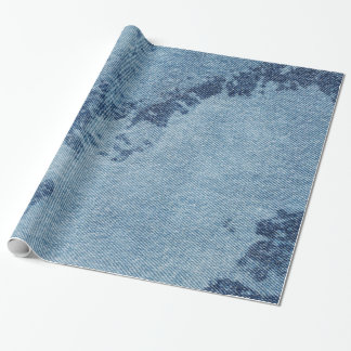 Washed Denim Design #9 at Emporio Moffa Wrapping Paper