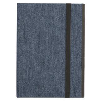 Washed Denim Fabric (Twill Textile) - Blue iPad Air Case