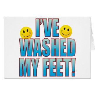 Washed Feet Life B Card